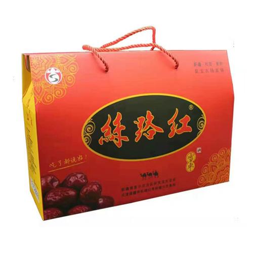 丝路红雪枣5星方礼盒