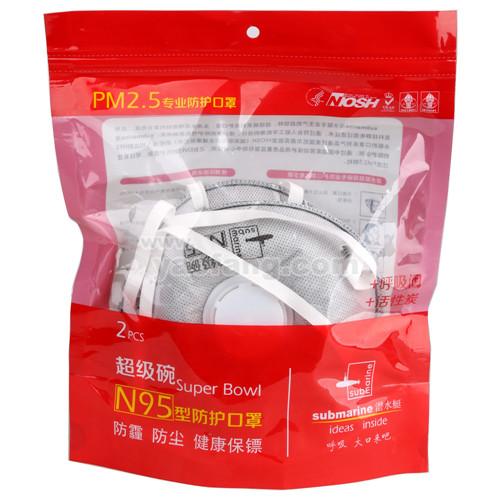 PM2.5专业防护口罩(超级碗)